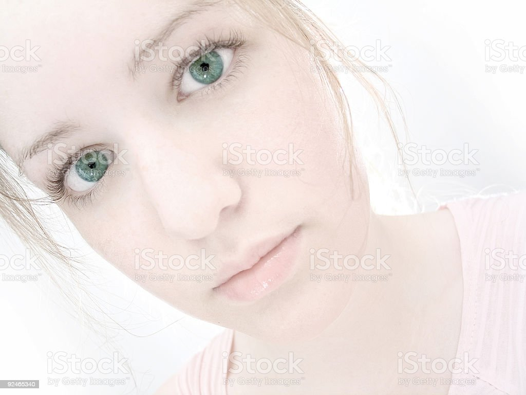 Gentle Stare royalty-free stock photo