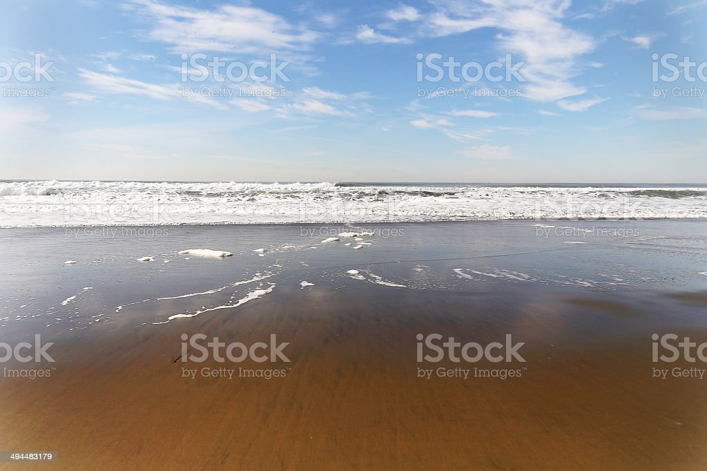 Gentle Surf royalty-free stock photo