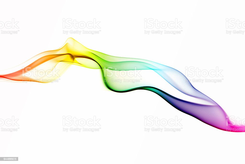 gentle wave colored royalty-free stock photo