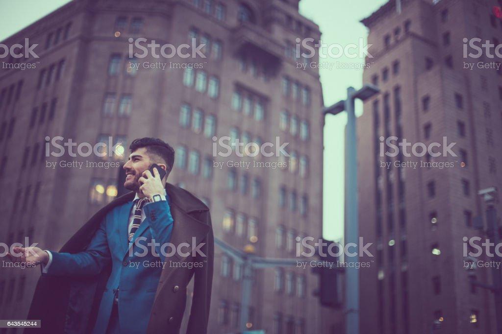 Gentleman and businessman stock photo