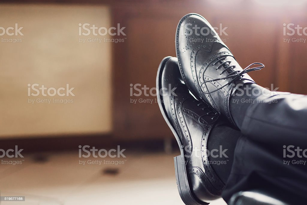 Gentleman Fashion And Lifestyle stock photo