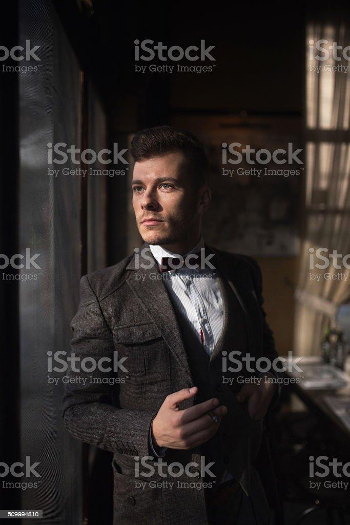 Gentleman Forever stock photo