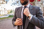 gentleman in a suit and tie