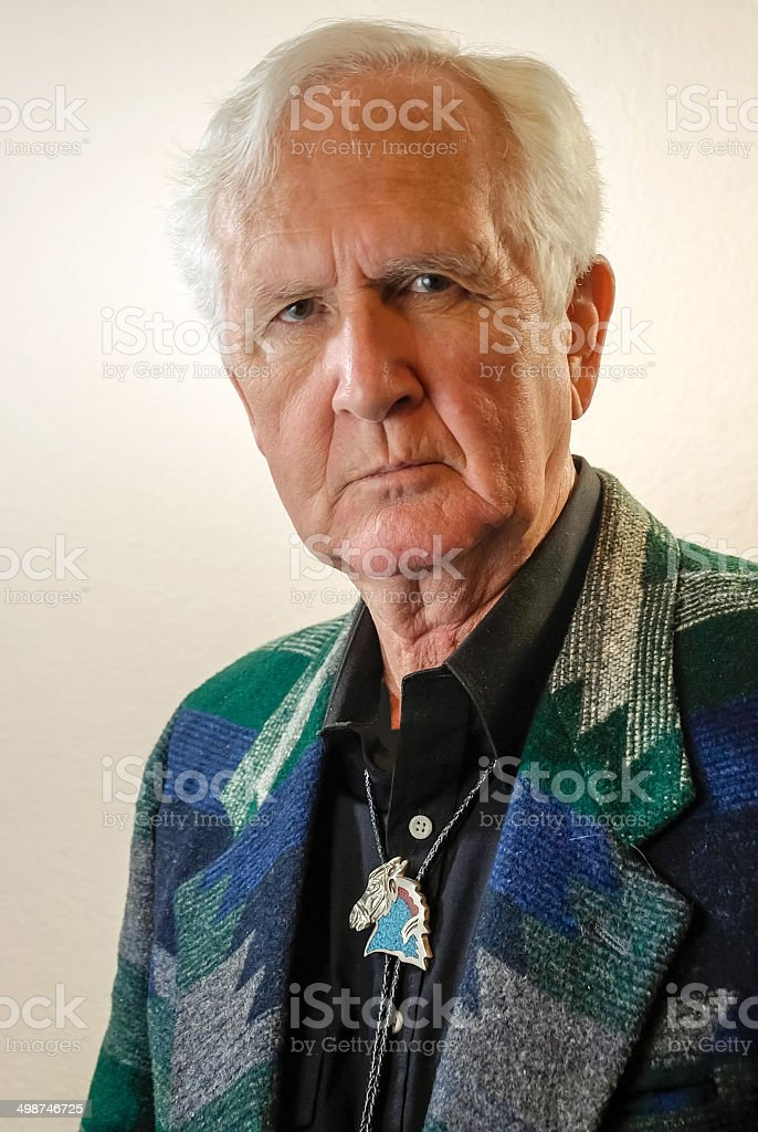 Gentleman Rancher stock photo
