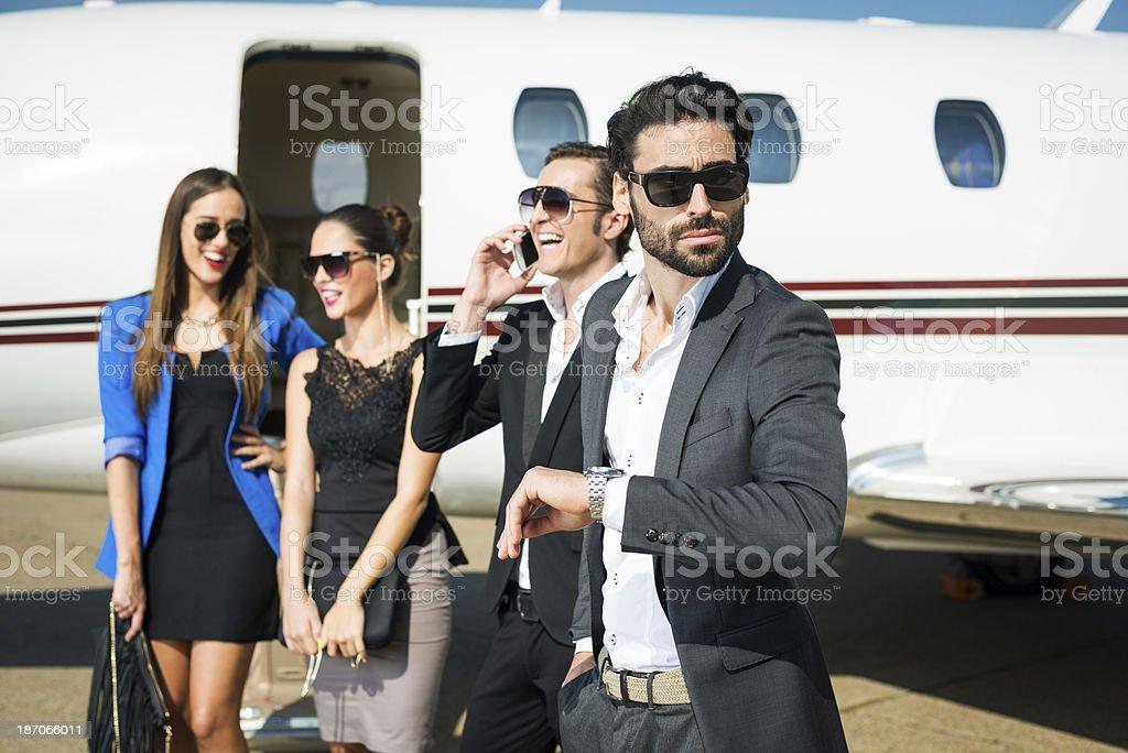 Gentlemen first royalty-free stock photo