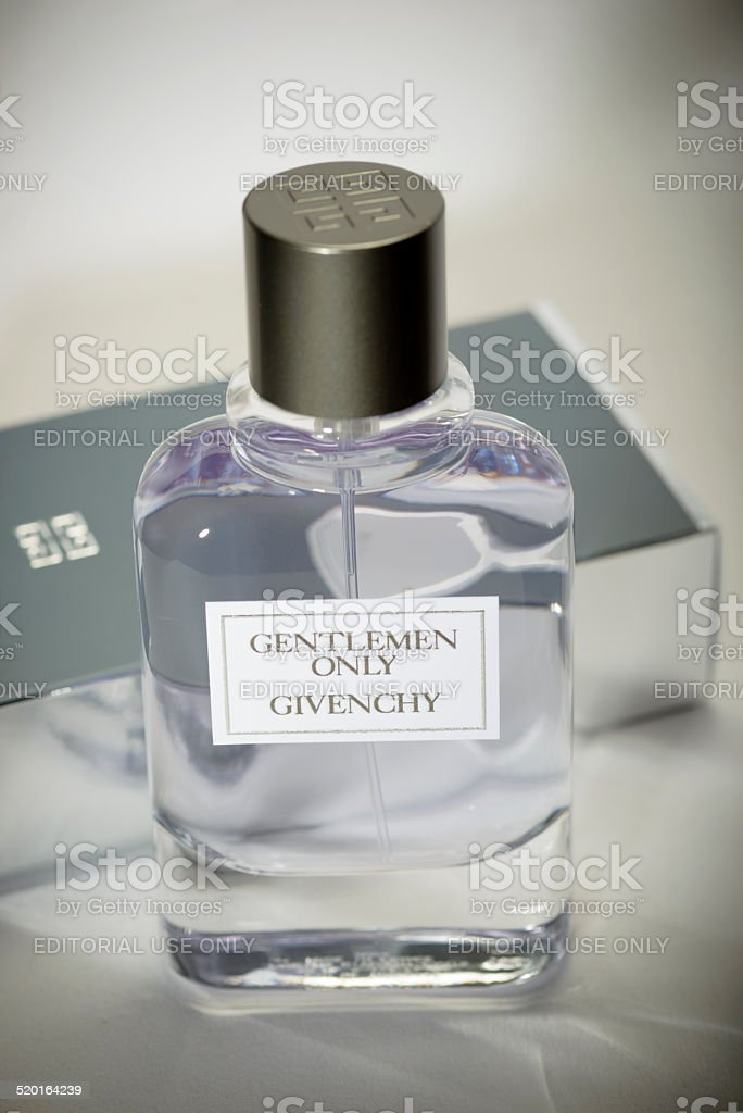 Gentlemen Only Fragrance by Givenchy stock photo