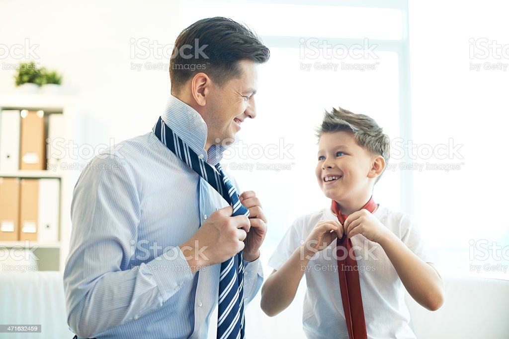 Gentlemen stock photo