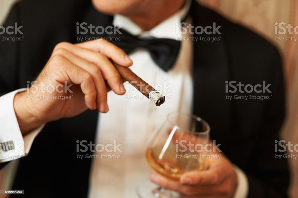 Gentlemen's choice stock photo