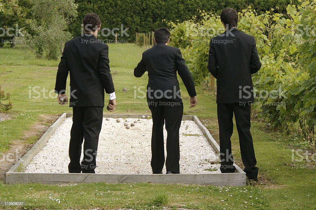 Gentlemens sport stock photo