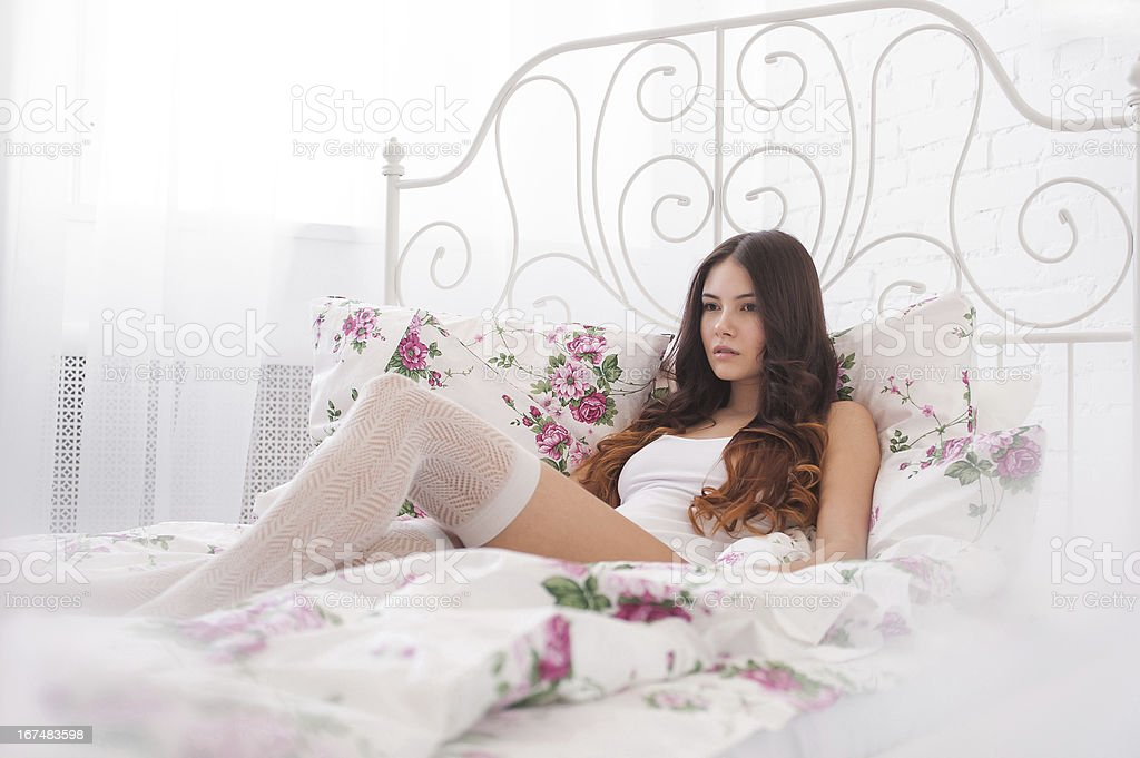 Gently morning royalty-free stock photo