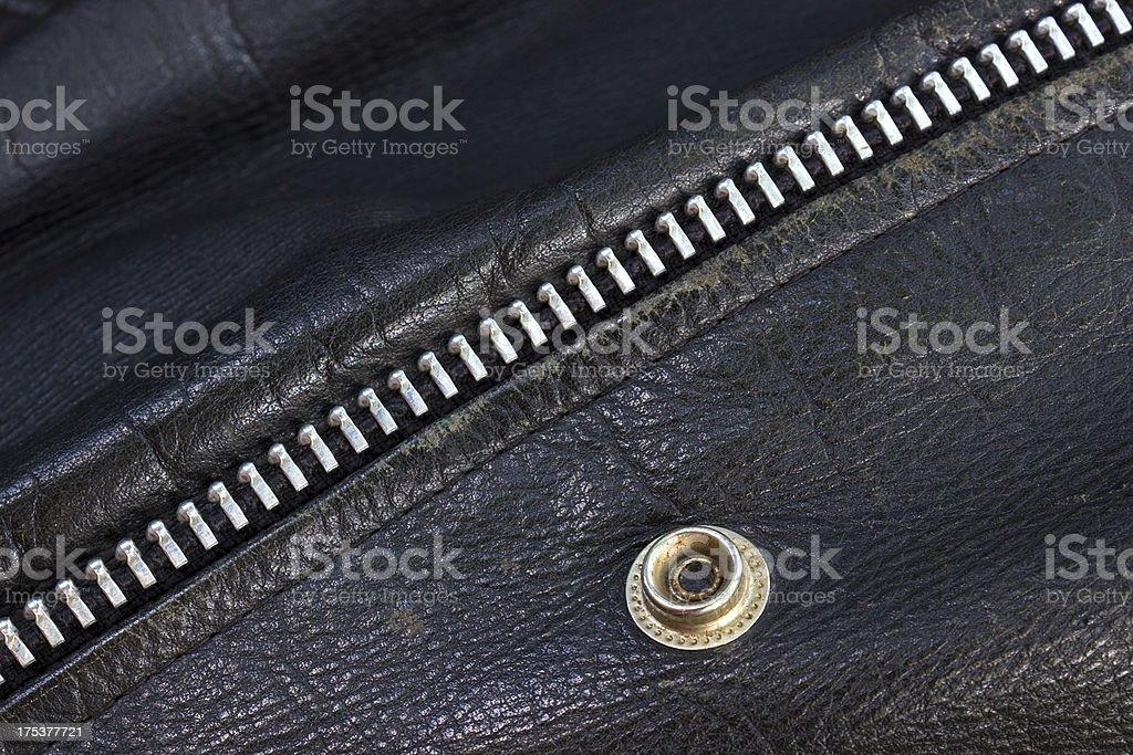 Genuine leather royalty-free stock photo