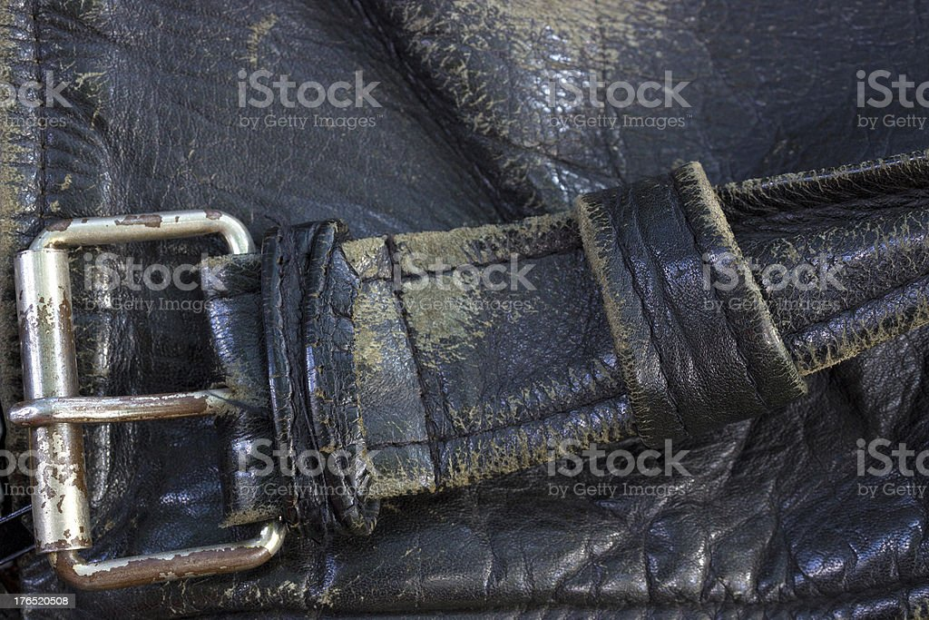 Genuine leather royalty-free stock photo