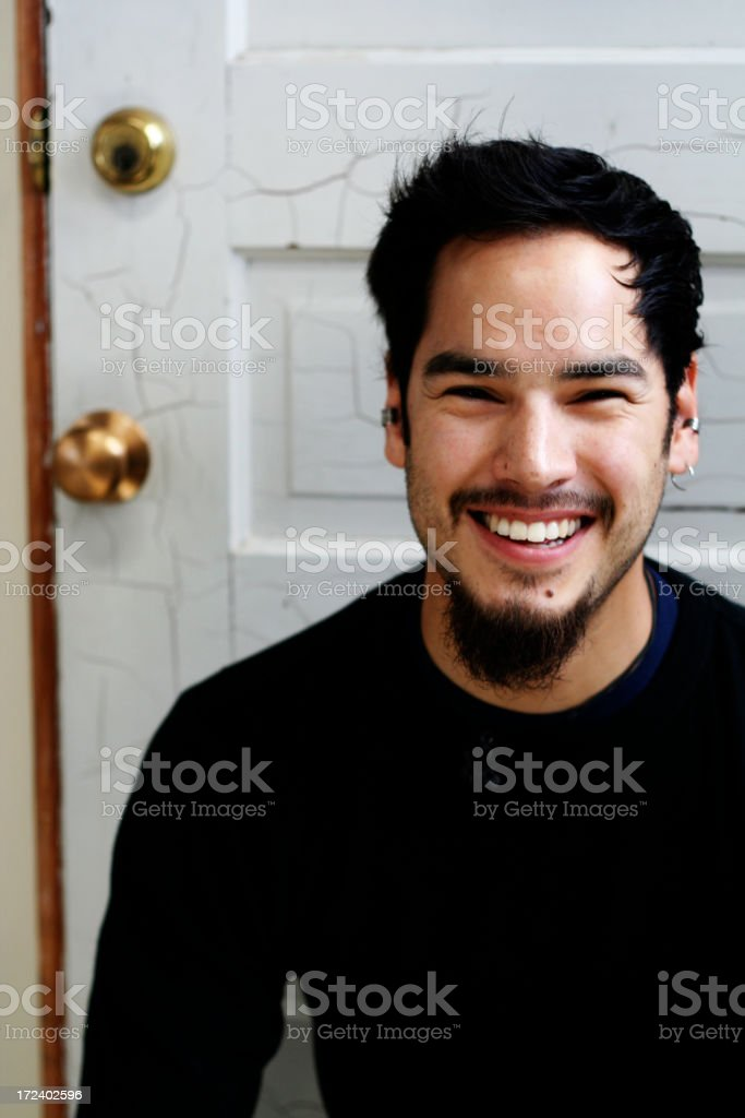 genuine smile royalty-free stock photo