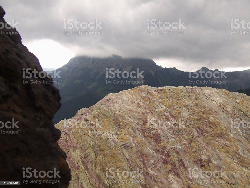 Geo-composition stock photo