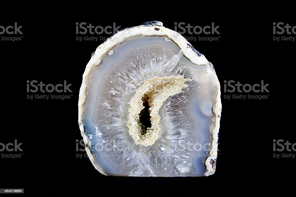 Geode. stock photo