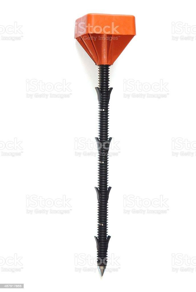 geodetic mark stock photo
