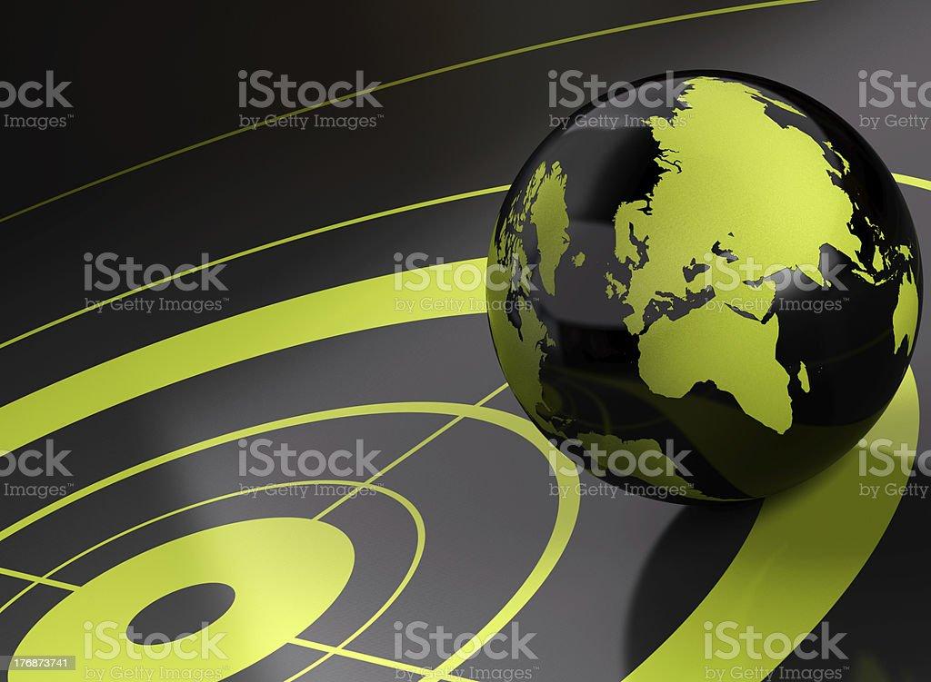 geolocation royalty-free stock photo