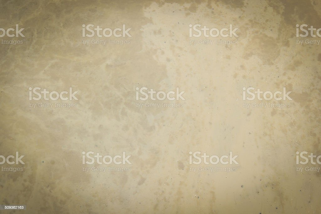 Geological sediment mixture as in roughing it stock photo