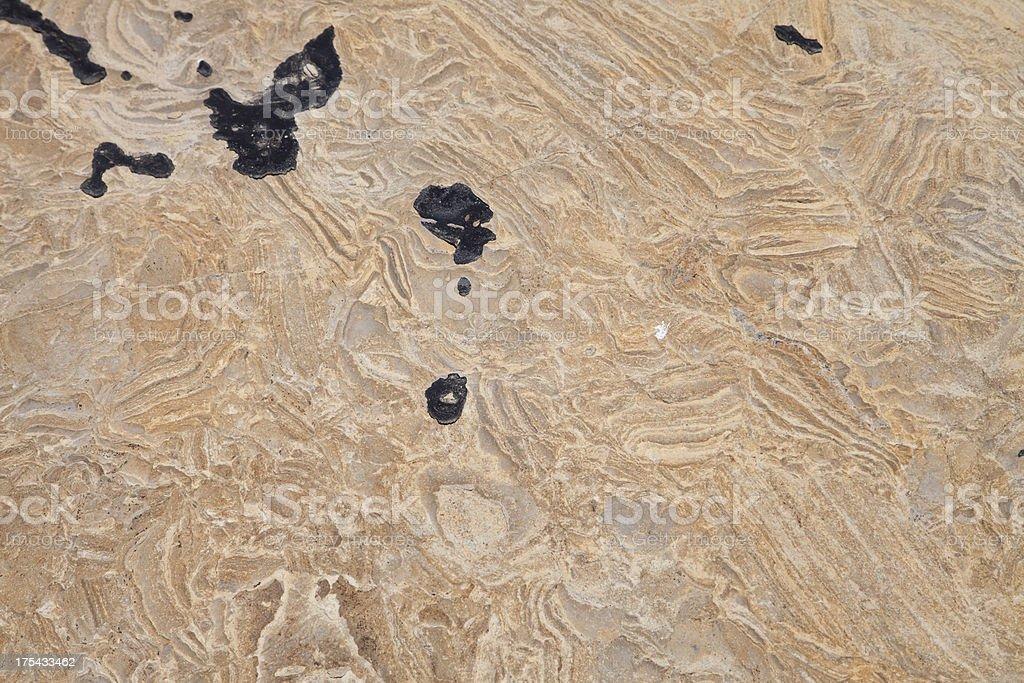 Geology at Jalama Beach royalty-free stock photo