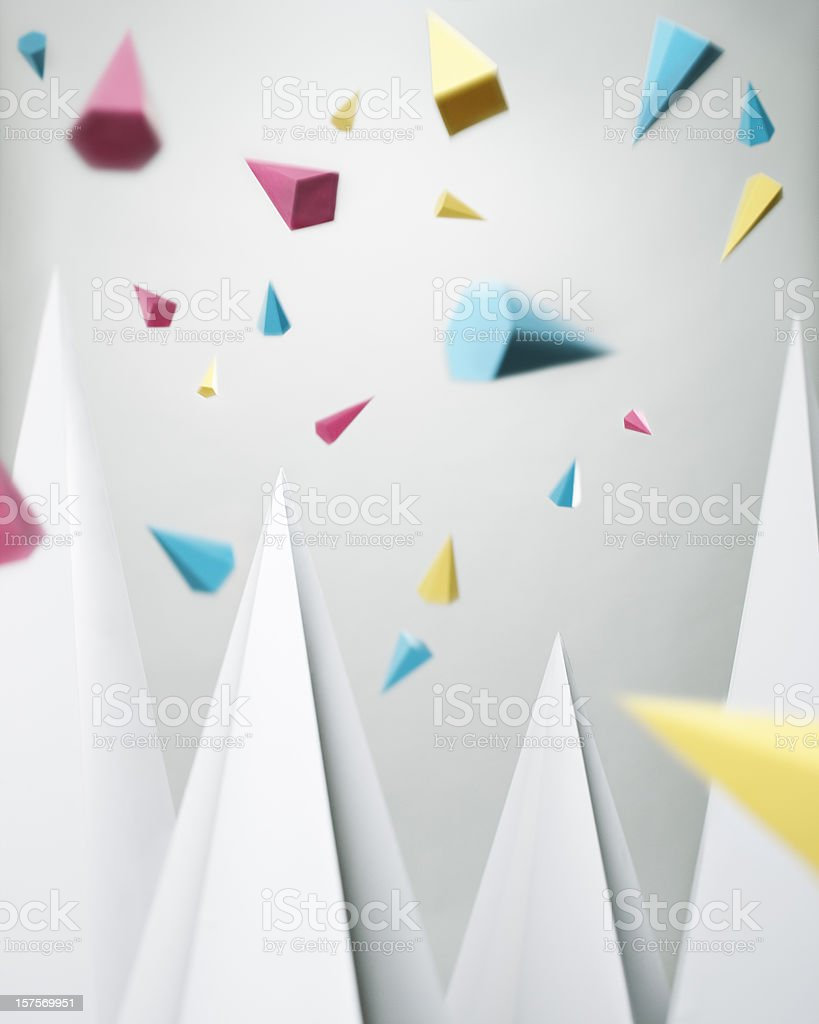 Geometric abstraction royalty-free stock photo