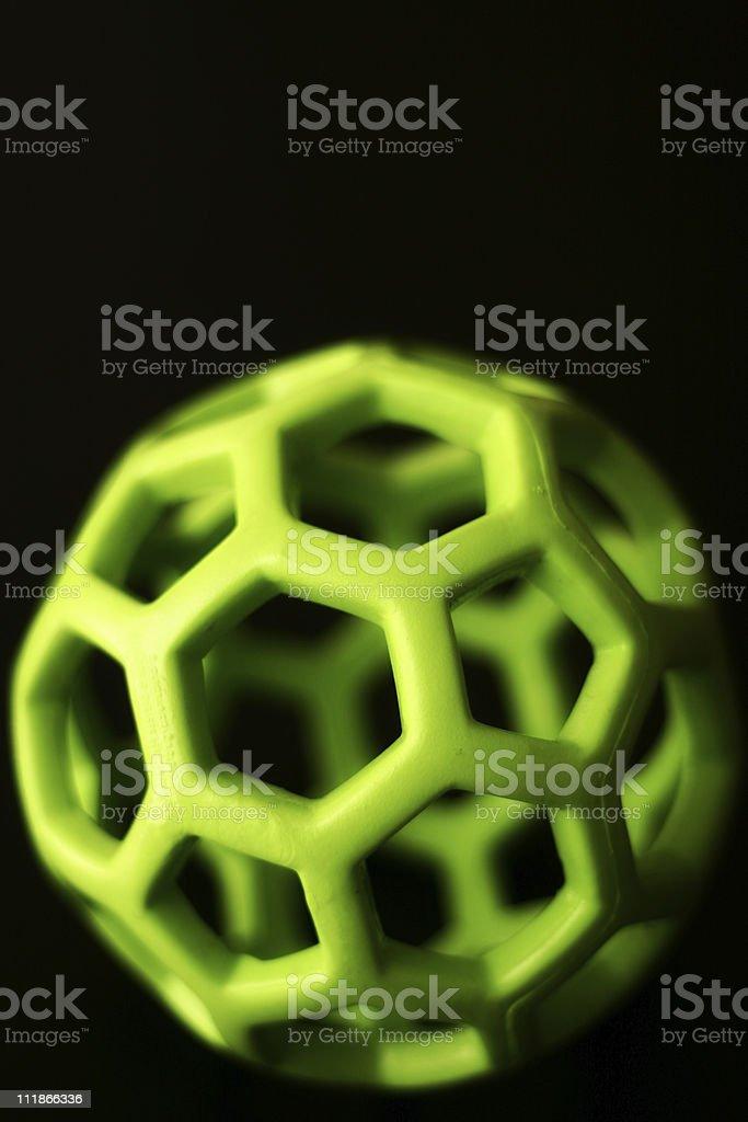 Geometric Ball royalty-free stock photo