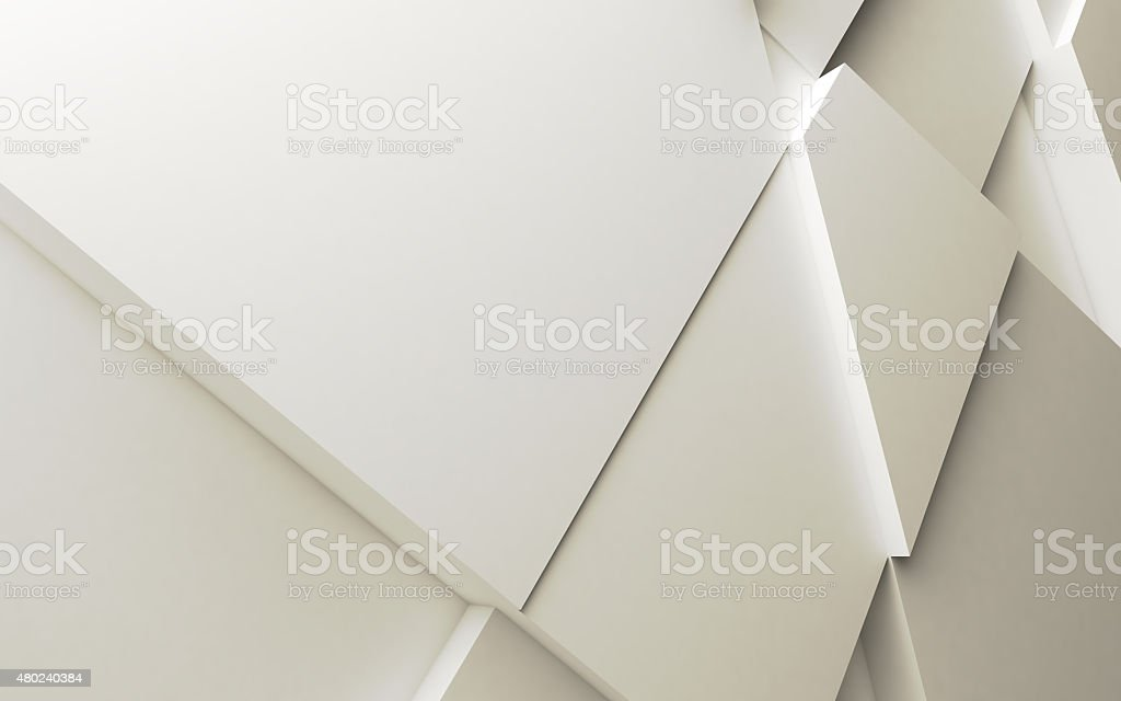 Geometric color abstract polygons stock photo