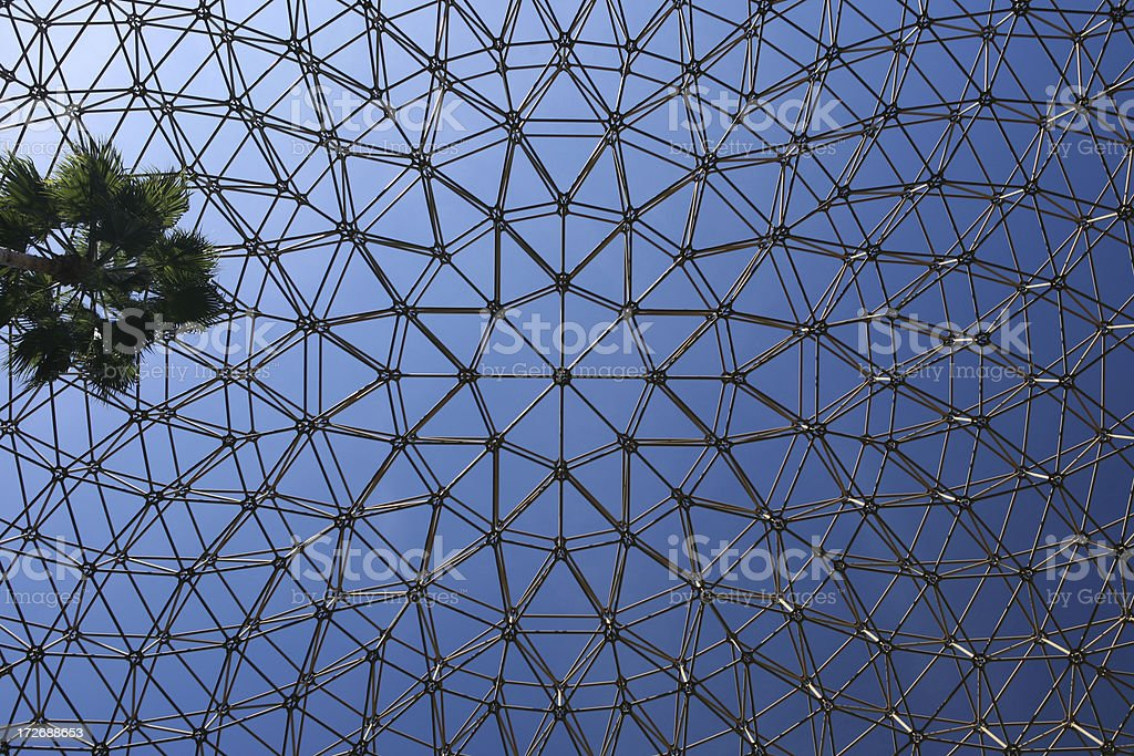 Geometric Dome royalty-free stock photo
