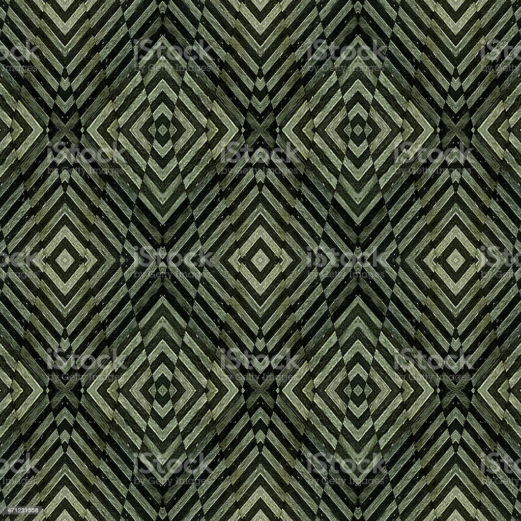 Geometric Grunge Seamless Pattern stock photo