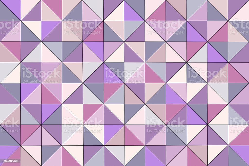 Geometric Multi Colored Triangle Abstract Pattern Technology Futuristic Connection Background stock photo