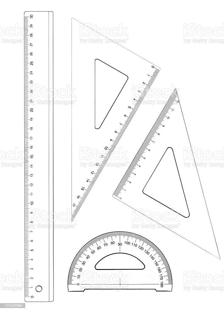 geometric set royalty-free stock photo