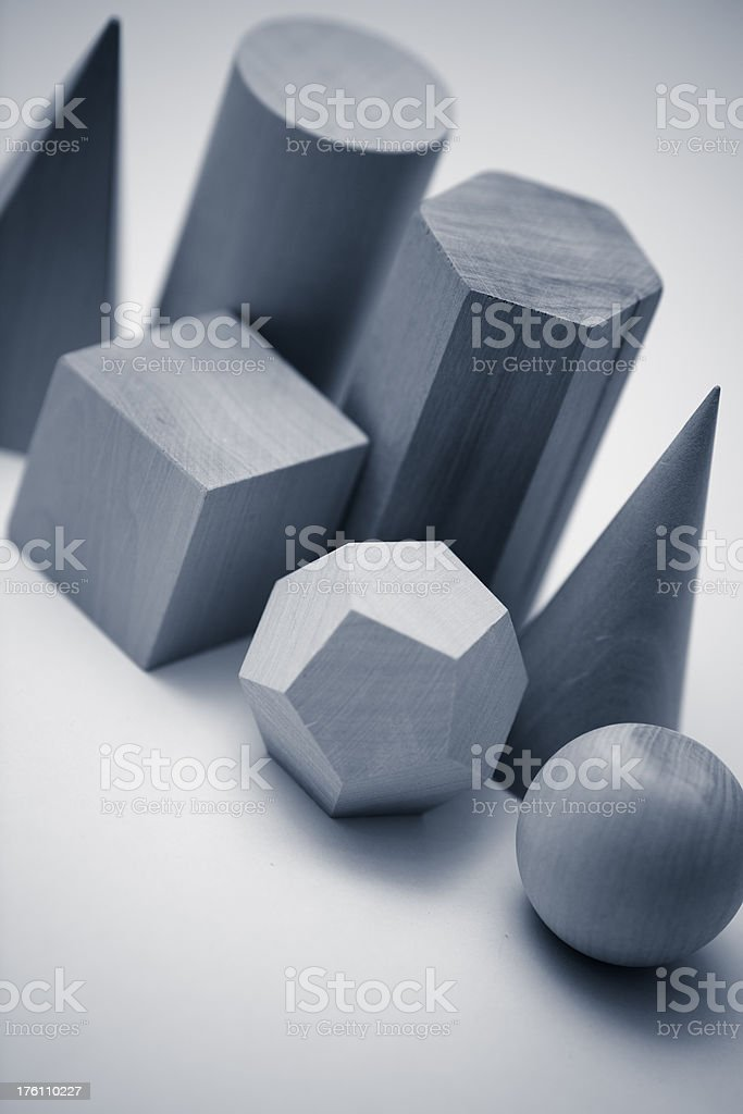 Geometric shapes. royalty-free stock photo