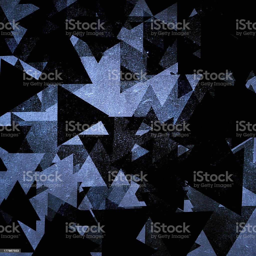 geometric triangle background royalty-free stock photo