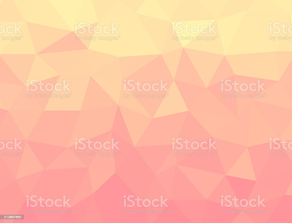 Geometrix yellow vintage polygon texture background. stock photo
