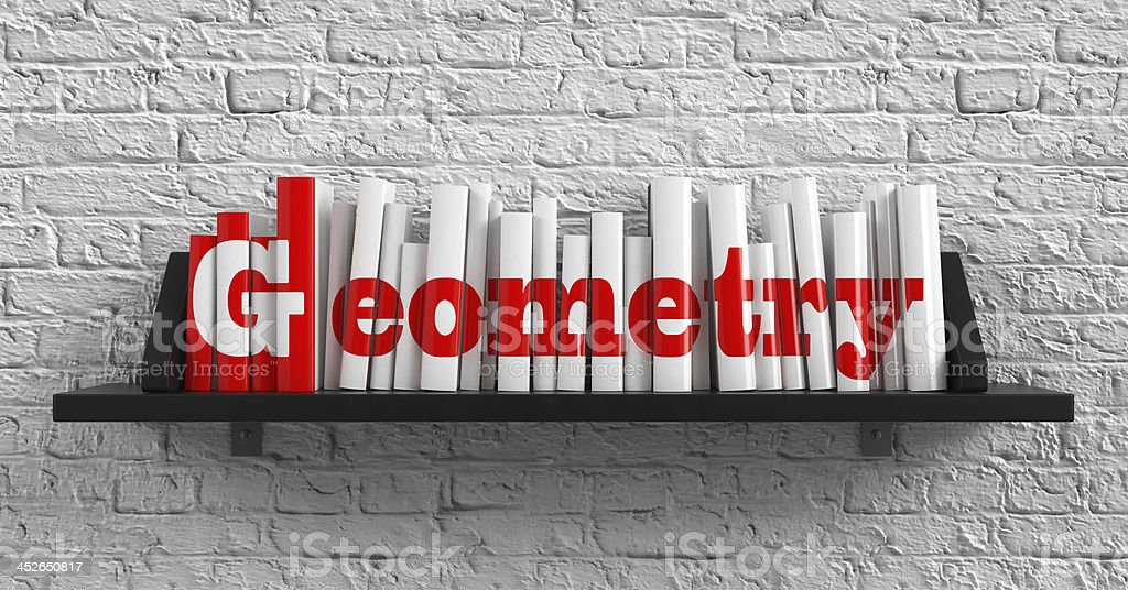 Geometry. Education Concept. stock photo