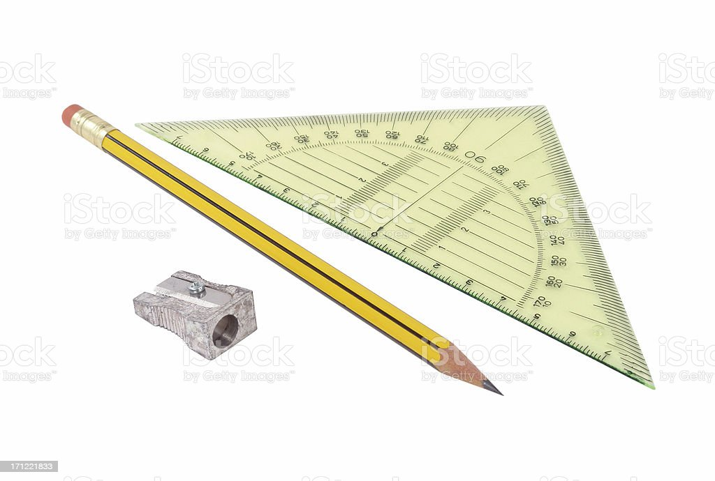 Geometry Kit stock photo