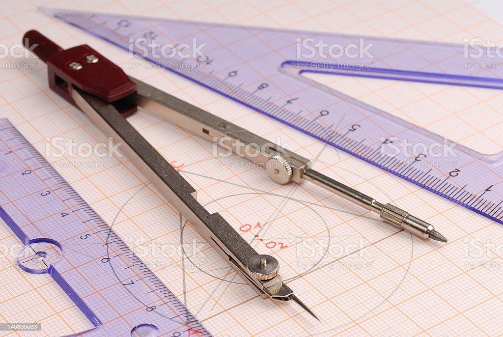Geometry royalty-free stock photo
