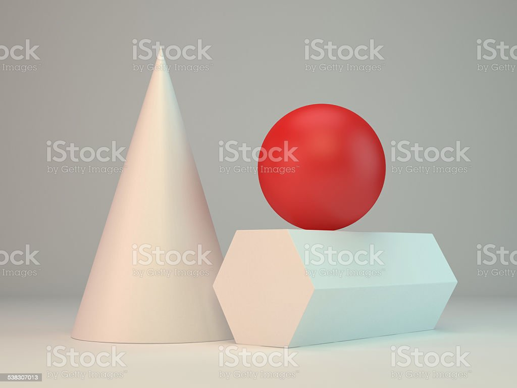 Geometry stock photo