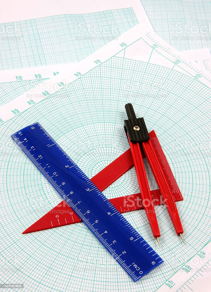 Geometry study royalty-free stock photo