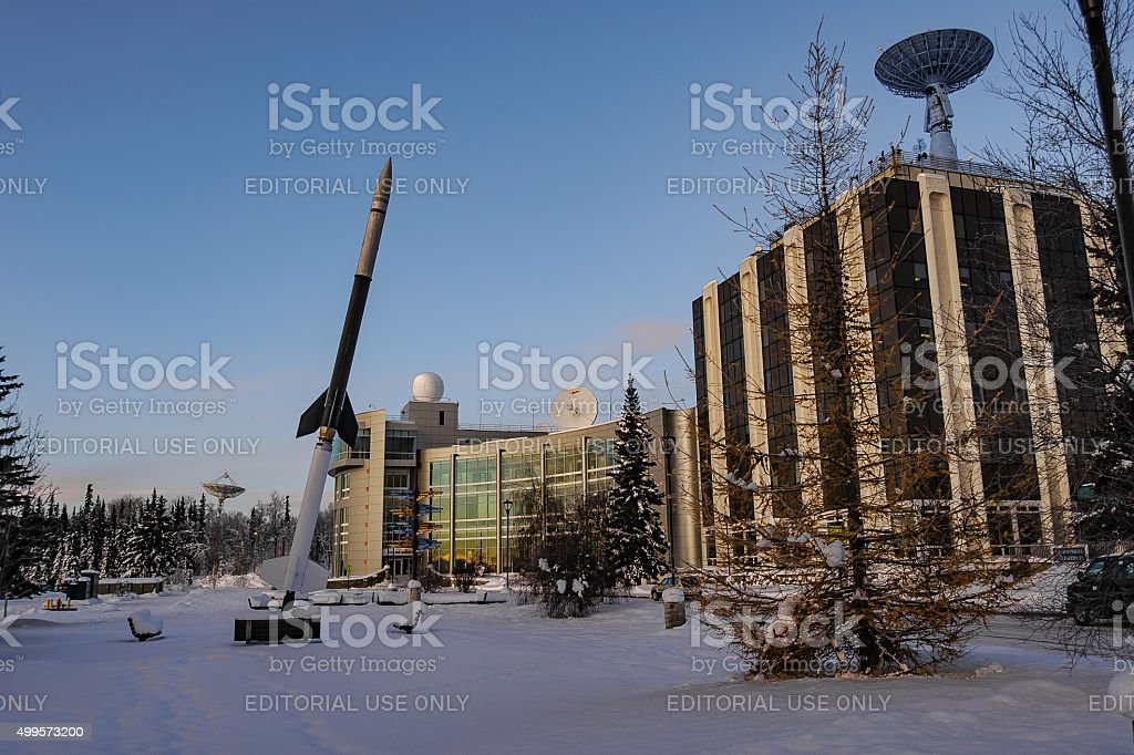 Geophysical Institute stock photo