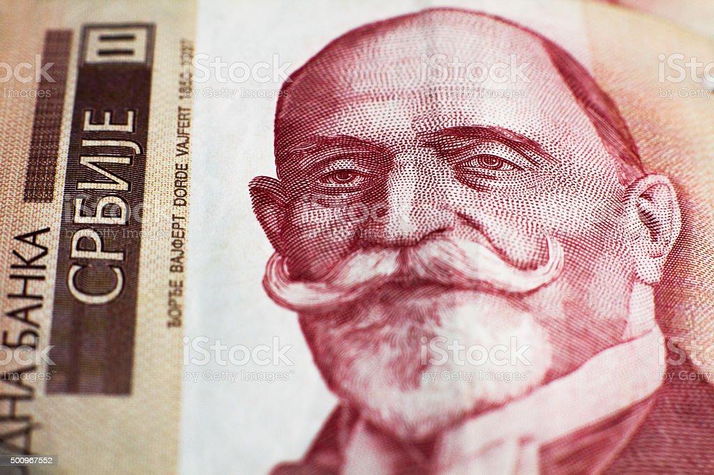 Georg Weifert, Thousand dinar stock photo