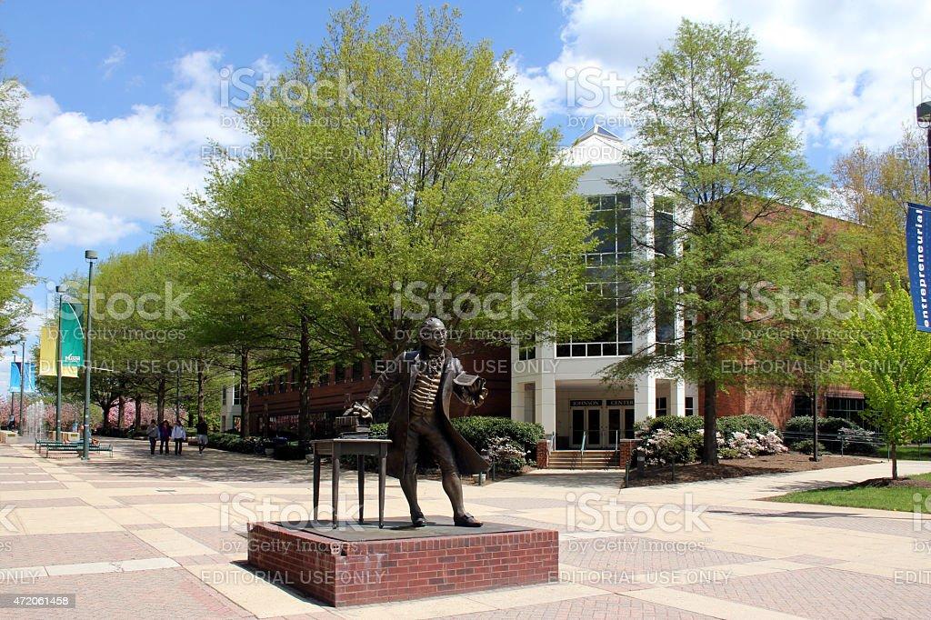 George Mason University stock photo