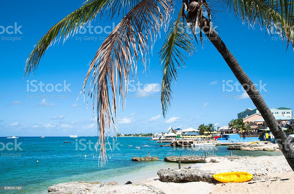 George Town Coastline stock photo