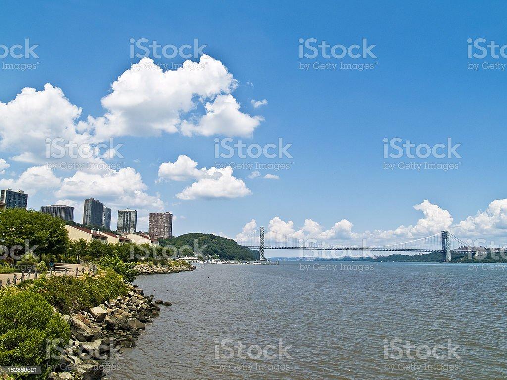 George Washington Bridge stock photo