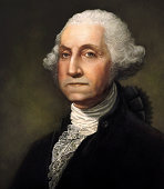 George Washington Digitally Generated Portrait