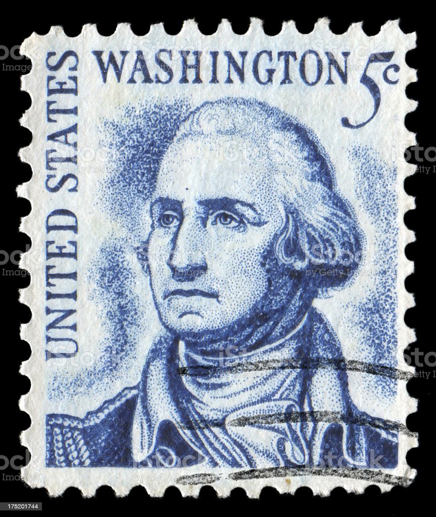 George Washington royalty-free stock photo