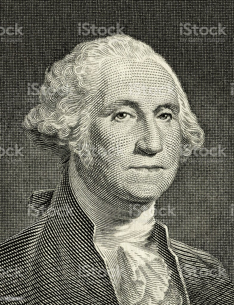 George Washington Portrait stock photo