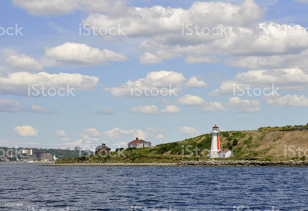 Georges Island royalty-free stock photo