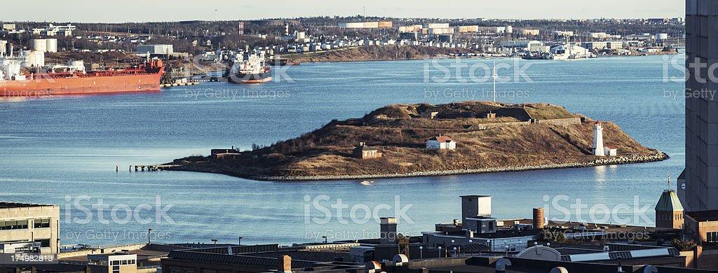 George's Island royalty-free stock photo
