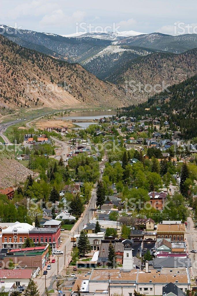 Georgetown Colorado stock photo