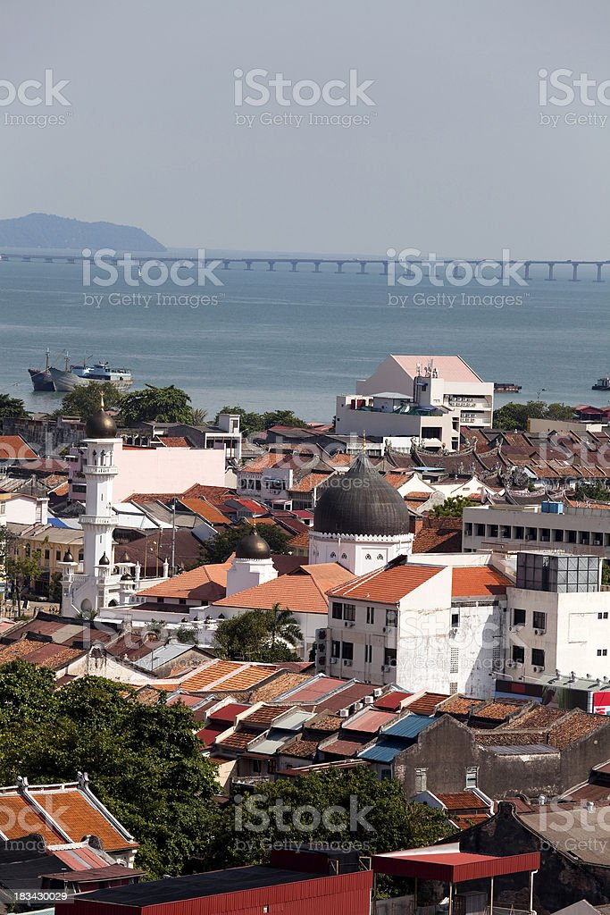 georgetown penang malaysia royalty-free stock photo